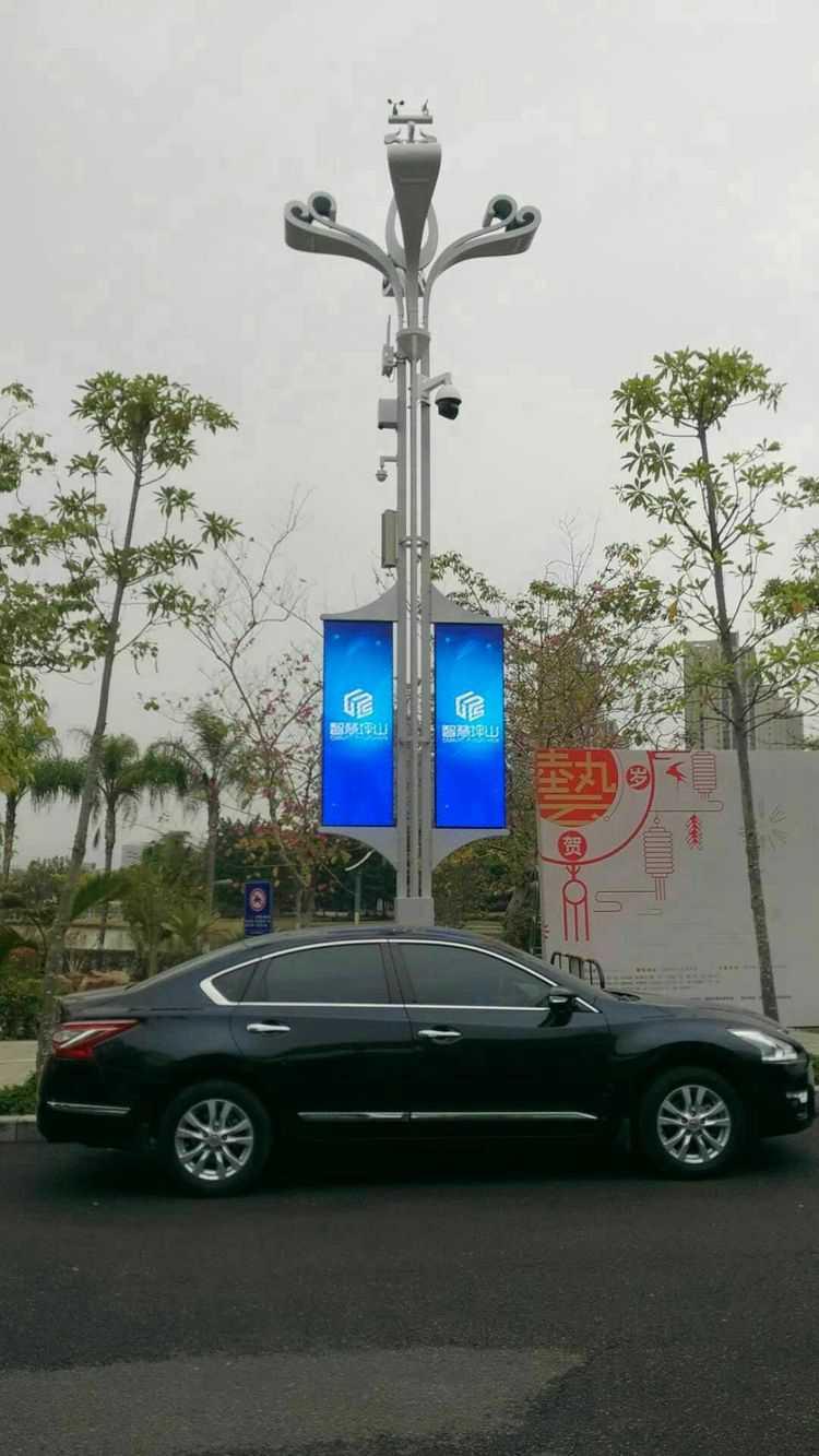 LED灯杆屏|智慧灯杆屏|立柱广告机|LED广告机|智慧路灯屏|灯杆广告屏