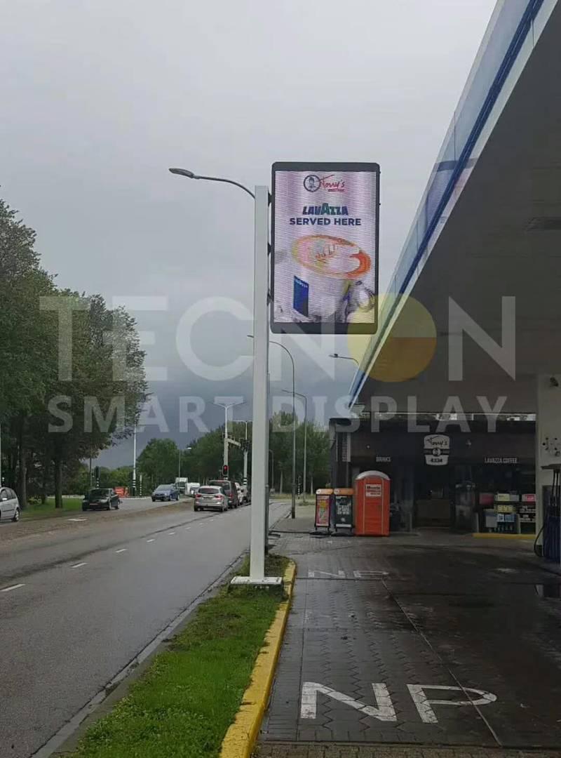 LED灯杆屏 立柱广告机 智慧灯杆屏 灯杆广告机 LED 广告机 智慧路灯屏 灯杆屏