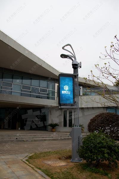led灯杆屏 智慧灯杆屏 立柱广告机 led广告机 灯杆广告机 灯杆屏 智慧灯杆显示屏