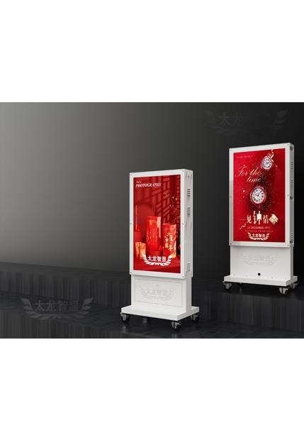 led灯杆屏 智慧灯杆屏 立柱广告机 led广告机 智慧路灯屏 户外LED广告机 灯杆屏 智慧灯杆 智慧路灯
